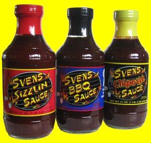 Sven's BBQ Sauces