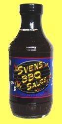 Svens BBQ Sauce Bottle